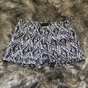 Cynthia Rowley Tribal Shorts